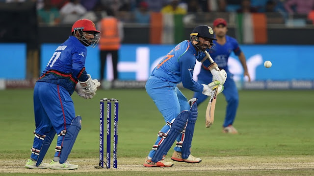India-Afghanistan Match tie