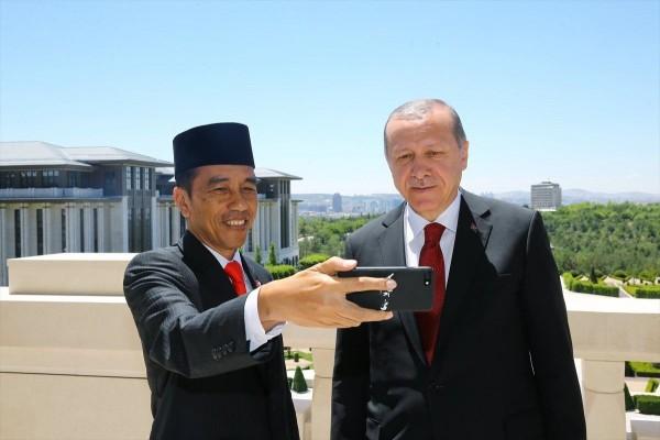 Hoax Erdogan Telah Ucapkan Selamat atas Kemenangan Jokowi