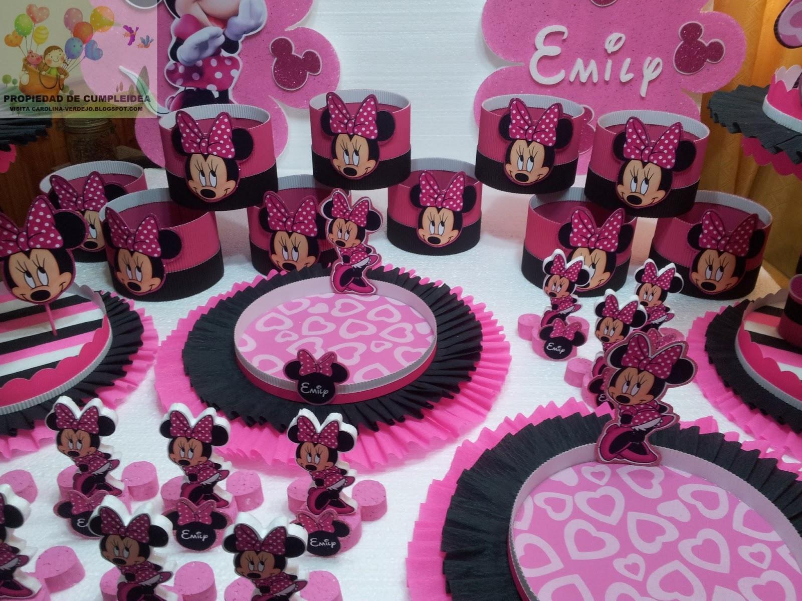 Decoraciones infantiles minnie mouse - Decoraciones para cumpleanos infantiles ...