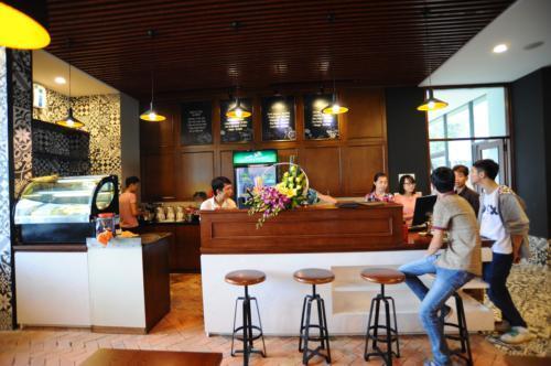 Khu Cafe chung cư - Hải Phát HP Landmark