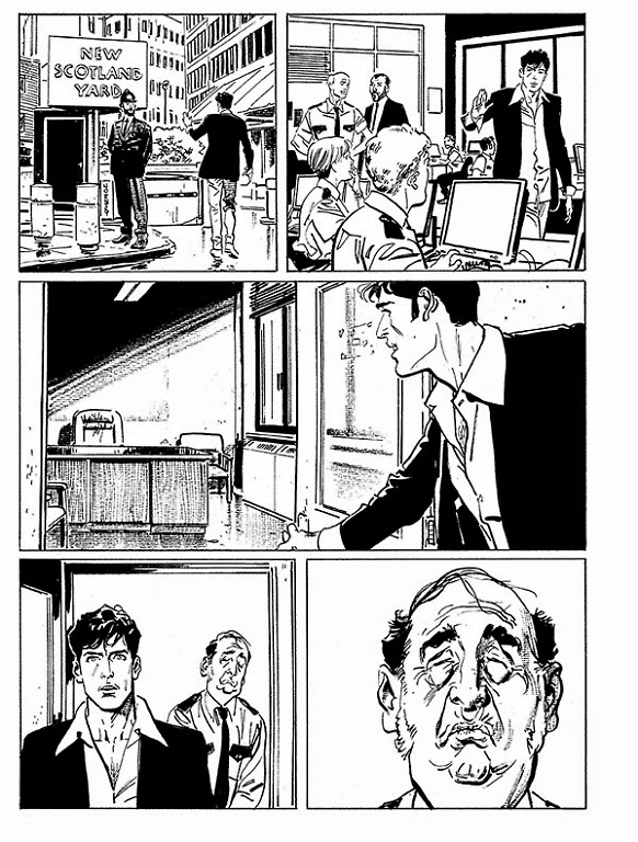Dylan Dog 338 - Mai più, ispettore Bloch Scan