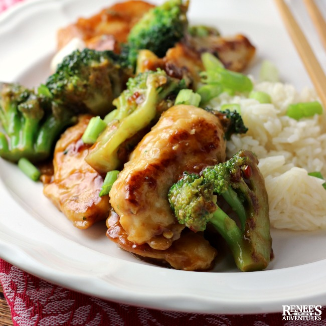 Garlic Chicken Broccoli Stir Fry