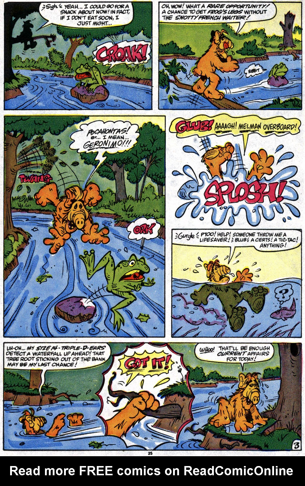 Read online ALF comic -  Issue #10 - 19