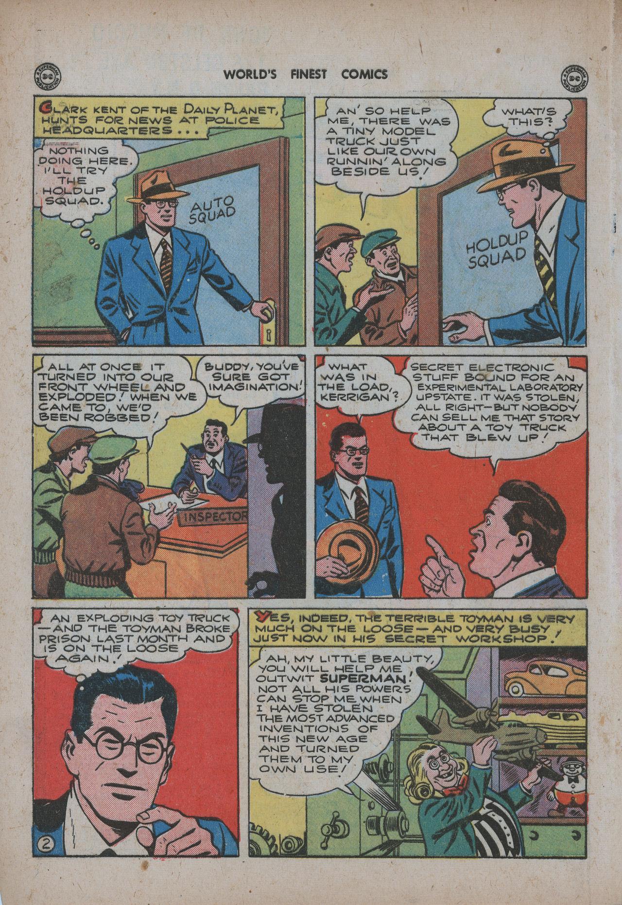 Read online World's Finest Comics comic -  Issue #20 - 4