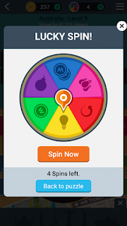 How to get free 4 spin in word trip game
