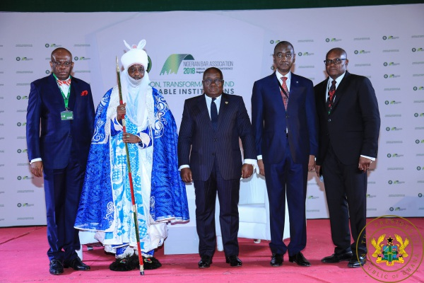 """""""Prioritise Budgetary Arrangements For Legislature, Judiciary"""" – President Akufo-Addo To African Countries"""