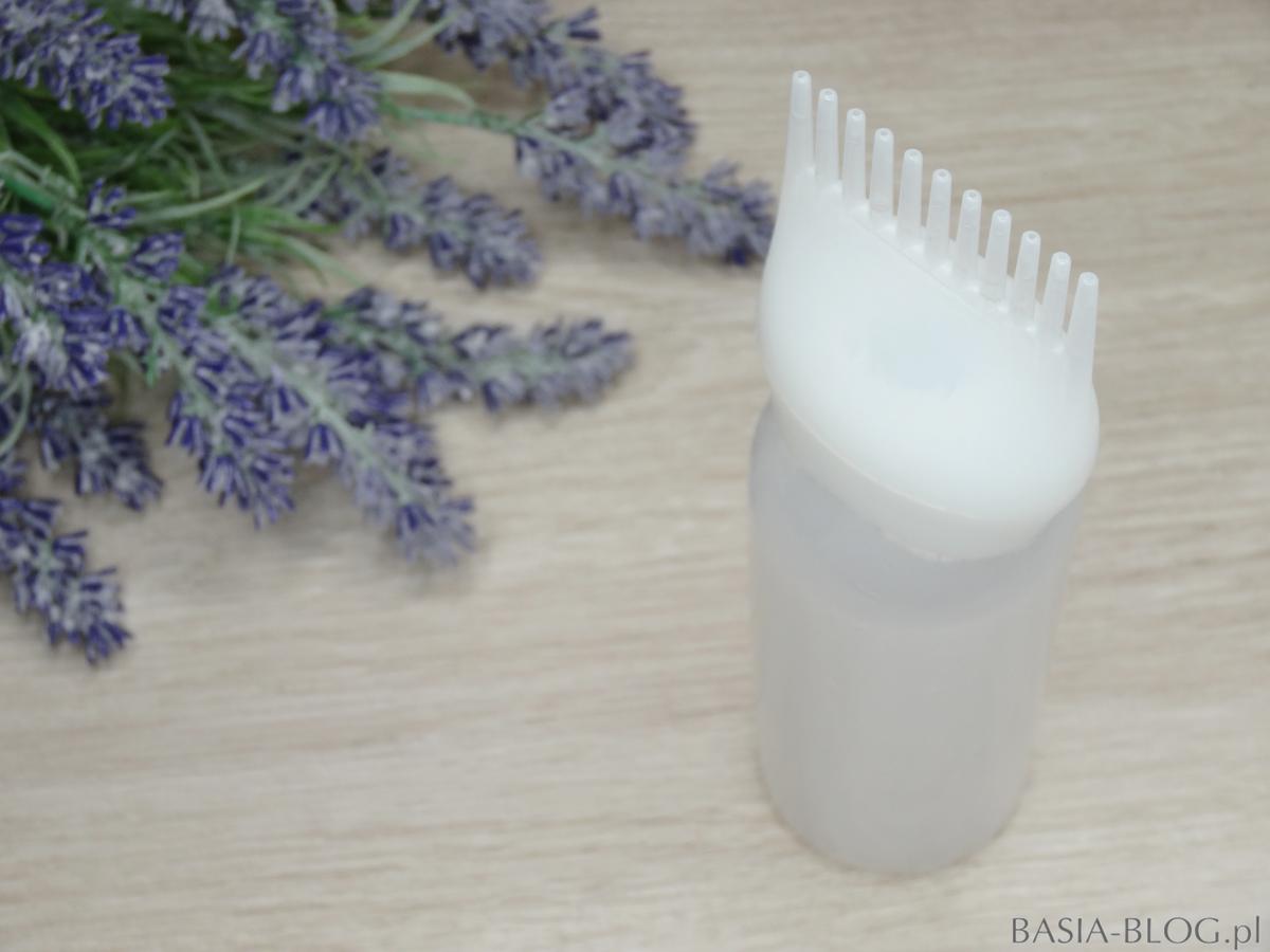 Butelka do aplikacji wcierki na skórę głowy AliExpress hair color bottle comb