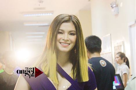 Angel Locsin Looked Stunning In Her Violet Dress