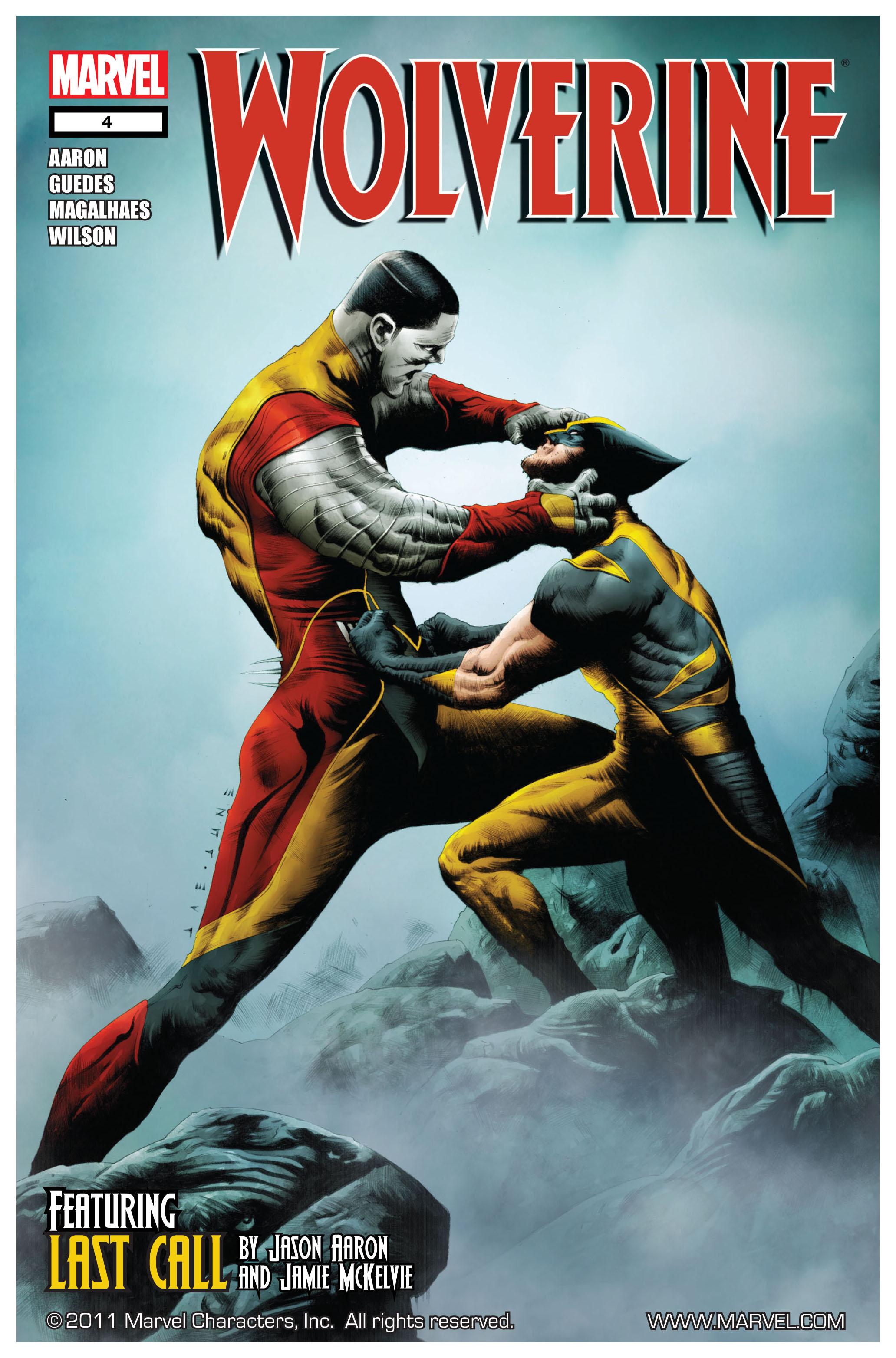 Wolverine (2010) 4 Page 1