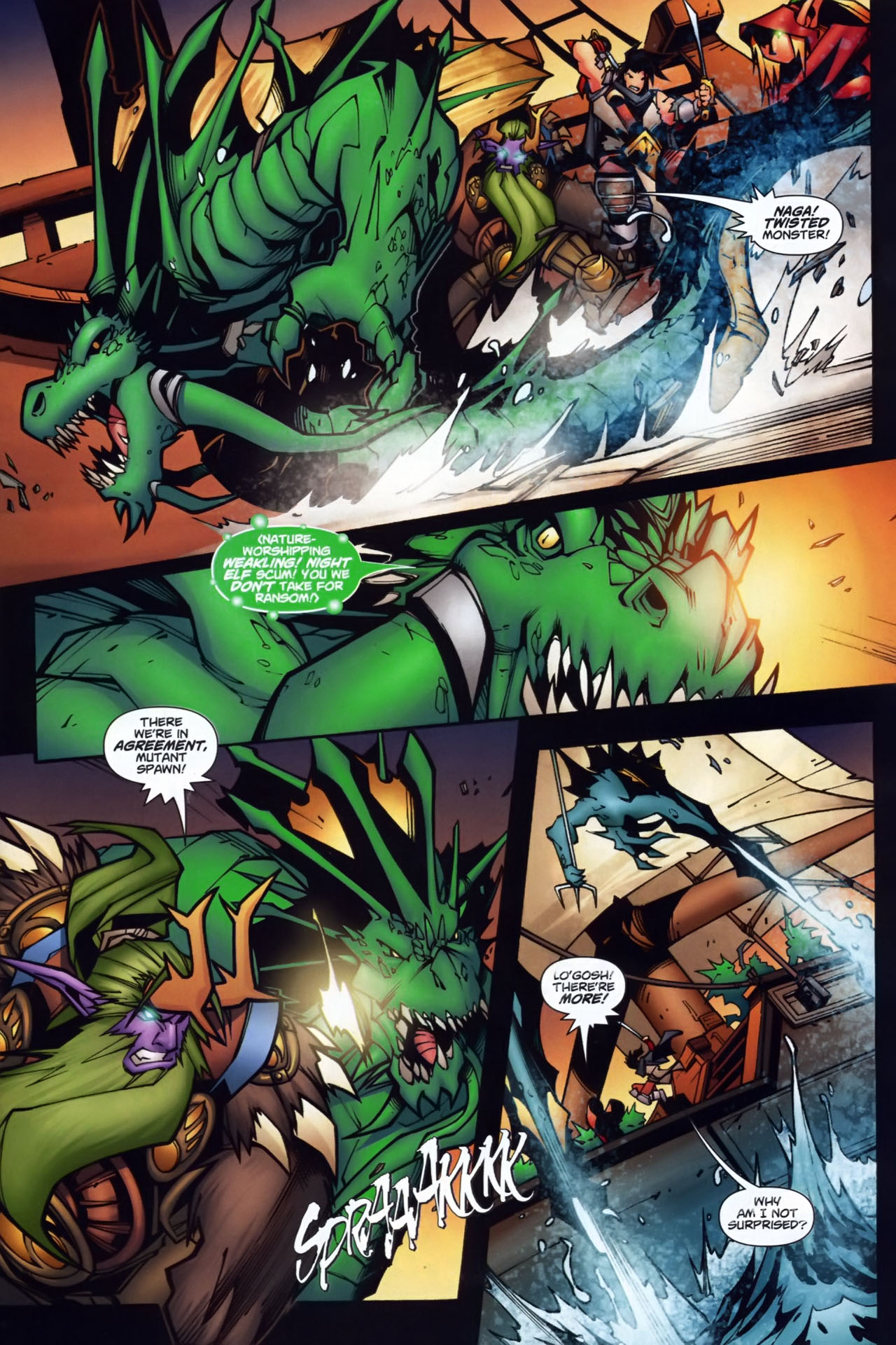 Read online World of Warcraft comic -  Issue #7 - 6