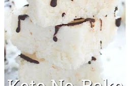 Keto Coconut Bars Recipe