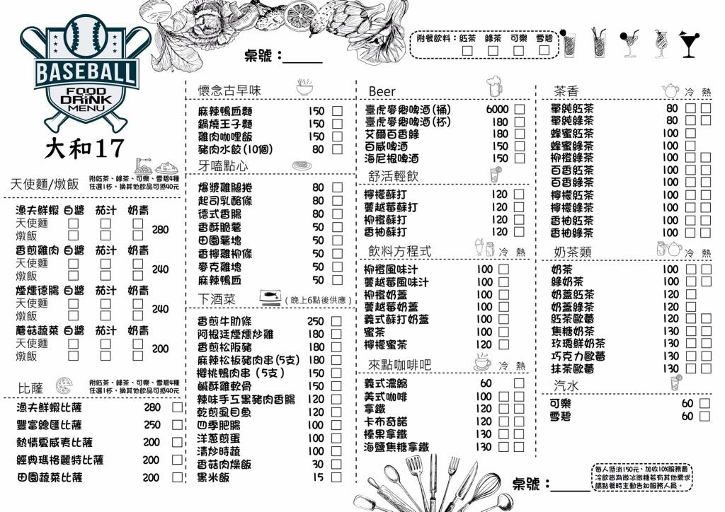 IMG 2002 - 熱血採訪│大和17。日式建築的運動主題餐館。自在氣氛包場好地方。臺虎精釀也能喝得到 (已歇業)