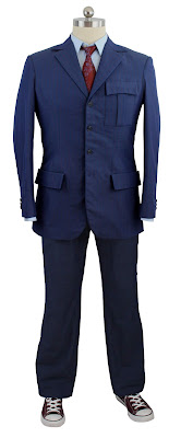 10th Doctor blue suit sewing tutorial