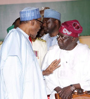 Tinubu, Saraki, Others Spotted With Buhari In Aso Rock Last Night; See Photos & What Buhari Told Them