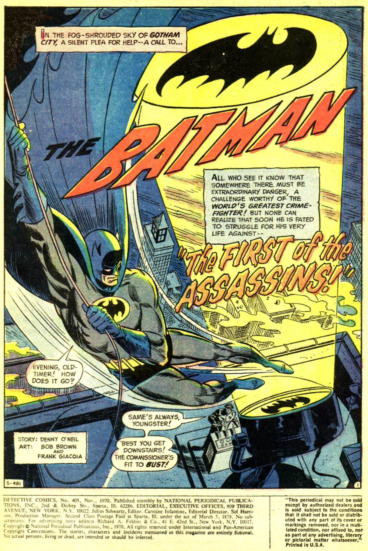 Detective Comics (1937) 405 Page 2