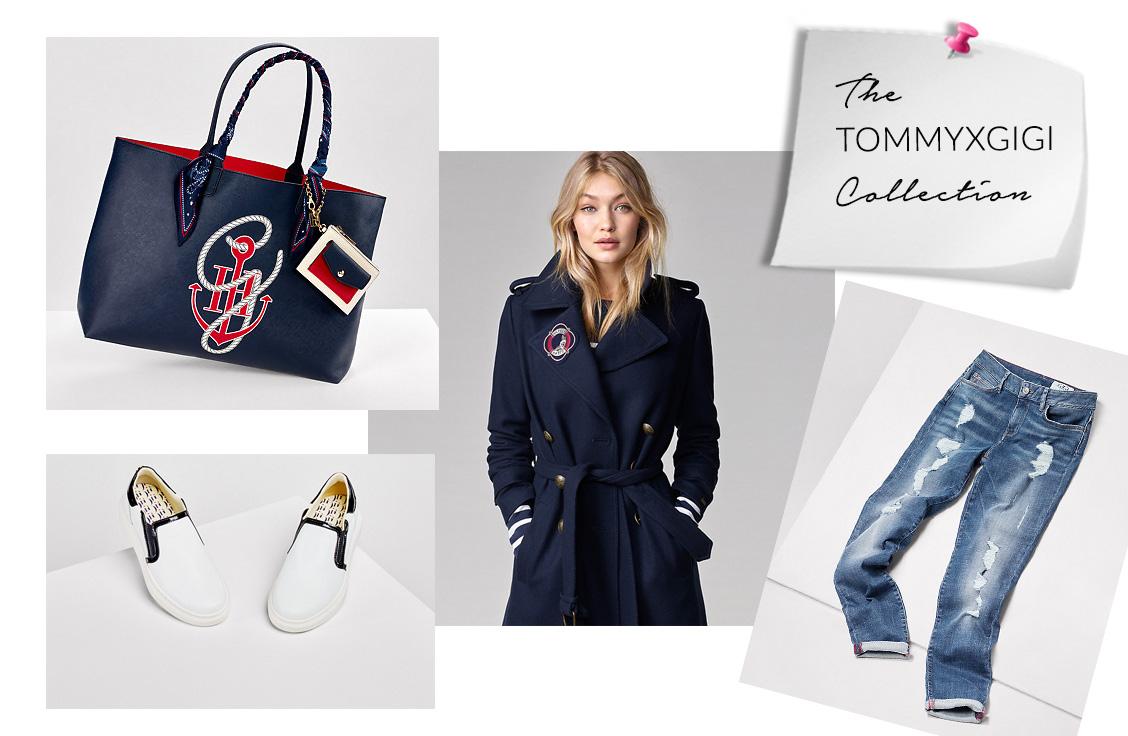 TOMMYXGIGI Collection by Gigi Hadid & Tommy Hilfiger