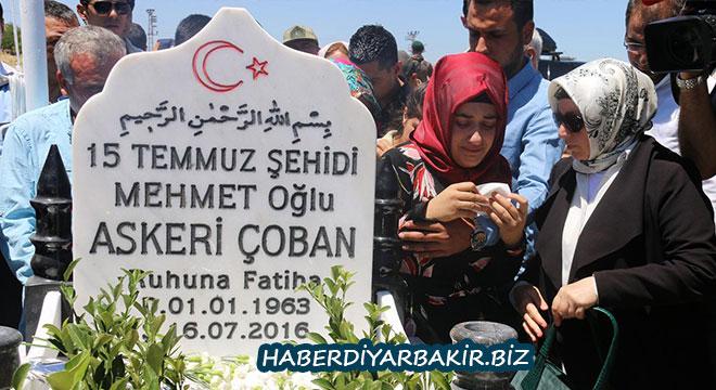 Diyarbakır Ergani'de 15 Temmuz şehidi Askeri Çoban anıldı