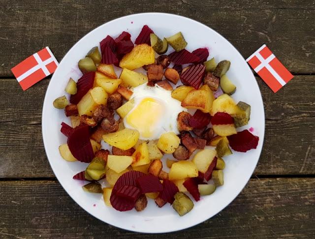 Rezept aus Dänemark: Biksemad im Backofen zubereiten. Das dänische Essen ist super für Familien mit Kindern!