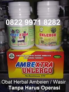 Obat ambeien alami Ambextra unlergo herbal wasir tanpa operasi
