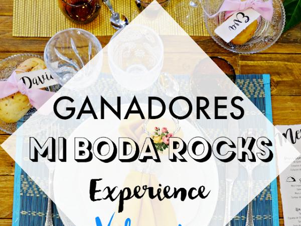 Ganadores Mi Boda Rocks Experience Valencia