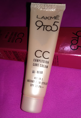 How to apply cc cream on face