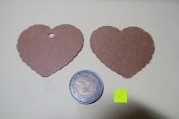 Pappe Münzen Vergleich: Tenn Well 100tlg Kraftkarton Geschenk Tags anhänger-Etikett fuer Party Mit 100 fuß von Natur Jute Twine Herz