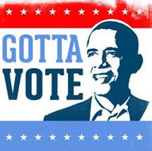 Obama gotta vote graphic