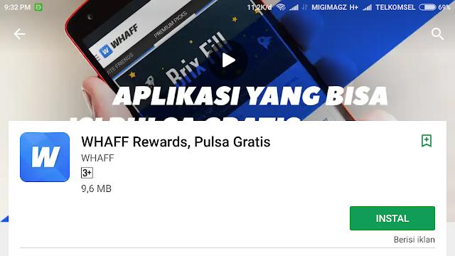 aplikasi penghasil pulsa tercepat dan gratis
