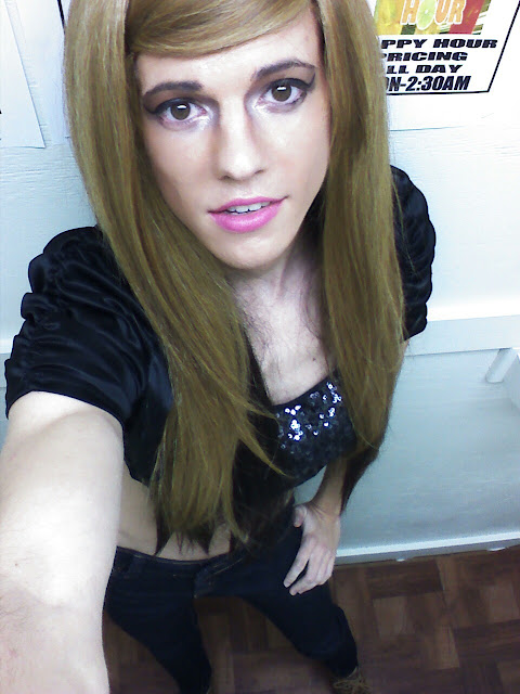 Tgirl sexy pink lips