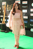 Nidhi Subbaiah Glamorous Pics in Transparent Peachy Gown at IIFA Utsavam Awards 2017  HD Exclusive Pics 59.JPG