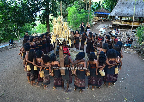 Alor Island tribe