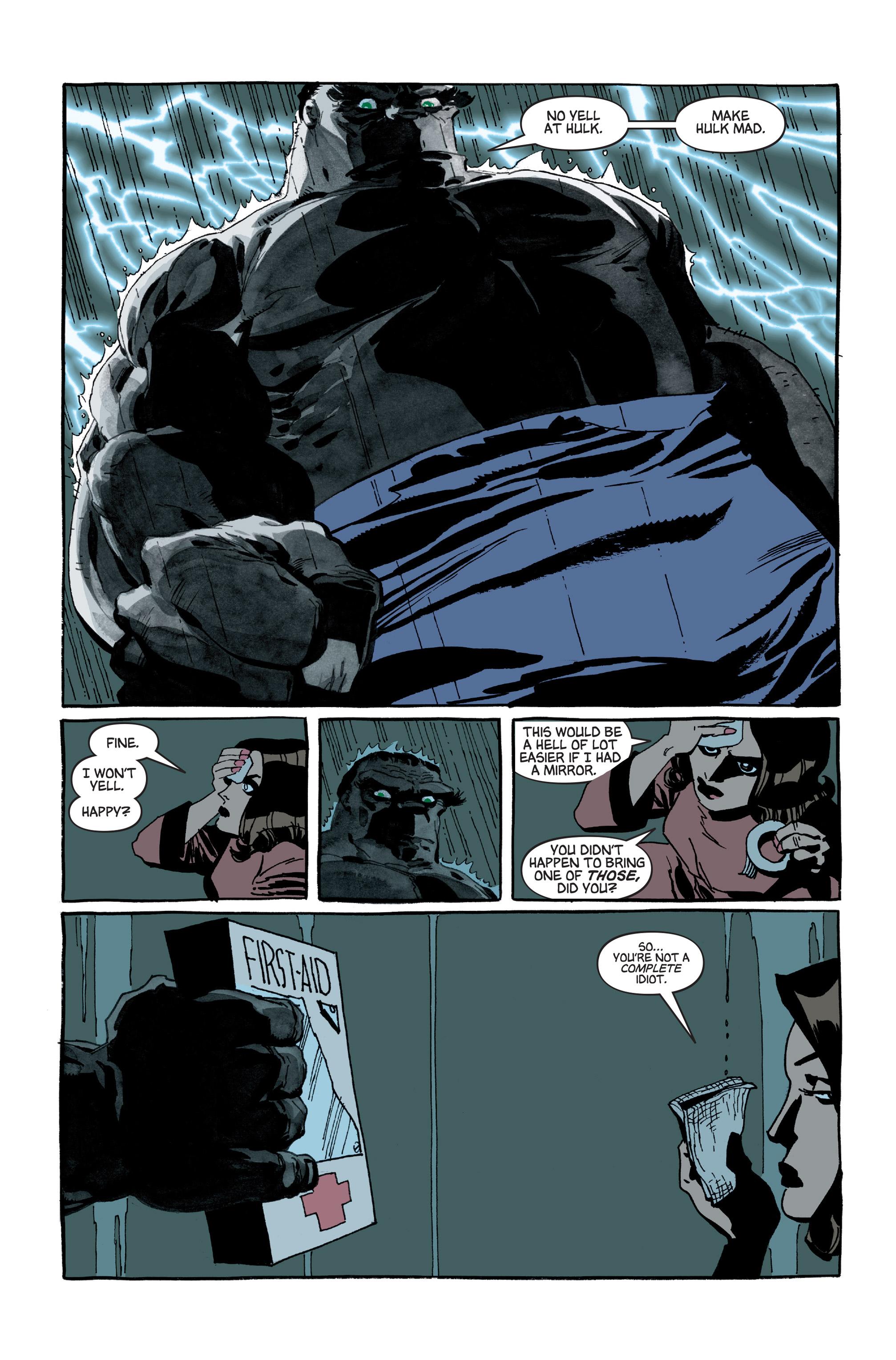 Read online Hulk: Gray comic -  Issue #5 - 12