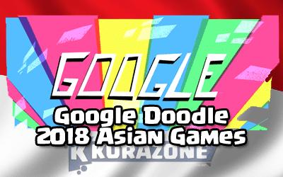 Google Doodle - 2018 Asian Games (18 Agustus 2018)
