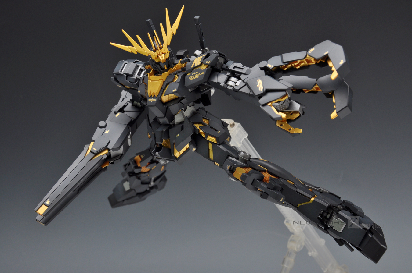 Gundam Guy Mg 1 100 Rx 0 Unicorn Gundam 02 Banshee Painted Build