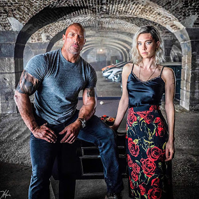 Hobbs And Shaw Dwayne Johnson Vanessa Kirby Image 2