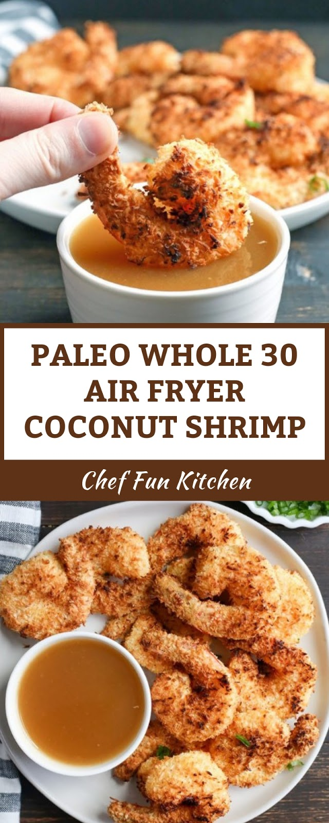 PALEO WHOLE 30 AIR FRYER COCONUT SHRIMP