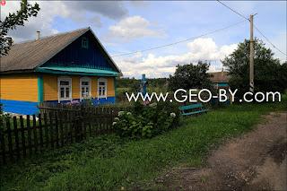 Деревня Жаулки. Православный крест