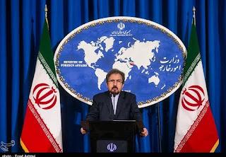 εκπρόσωπος του υπουργείου Εξωτερικών του Ιράν, Μπαχράμ Κασέμι
