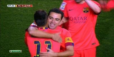 Copa Del Rey : Villarreal 1 vs 3 Barcelona 04-03-2015