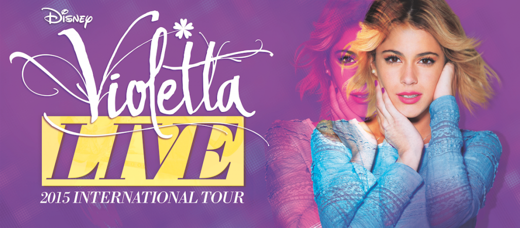 Богатства Елены: Оливия и Виолетта! Violetta LIVE в Барселоне!
