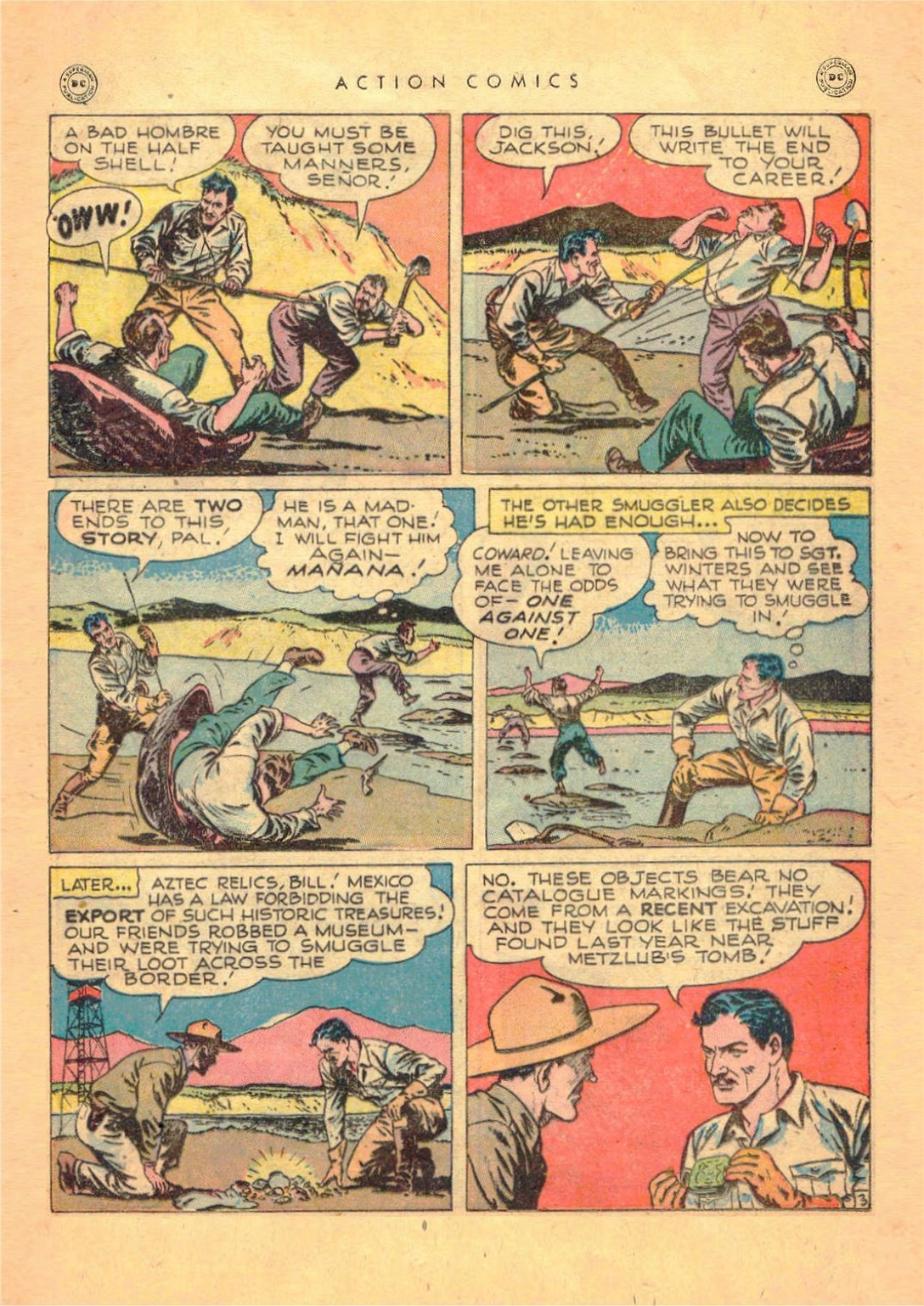Read online Action Comics (1938) comic -  Issue #124 - 37