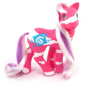 My Little Pony Springy Year Ten Colorswirl Ponies G1 Pony