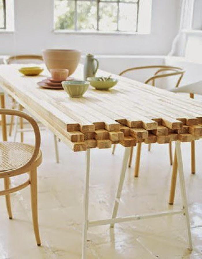 Atelier rue verte le blog for my home id es d co 10 touches de bois for Idee van deco