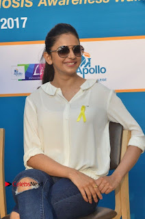 Actress Rakul Preet Singh at Endometriosis Awareness Walk at Apollo Cradle  0076.jpg
