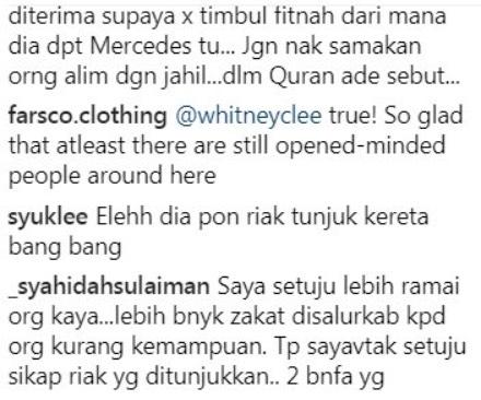 """""""Ustaz Pun Riak Tunjuk Kereta RM300K"""" - Tegur Aliff Syukri, Ini Respon Caprice Kepada Ustaz Ahmad Husam"""