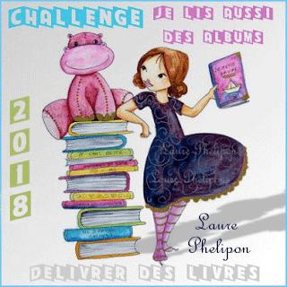 """Challenge """"Je lis aussi des albums"""" 2018"""