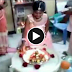 Tamil family members celebrate their child birthday with singing Tamil song. Really heart touching video.