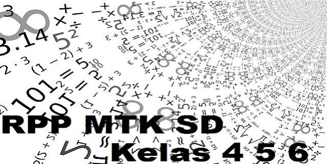 Hasil gambar untuk rpp matematika sd