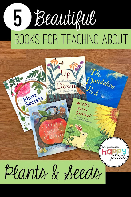 Five picture books for your plants unit in kindergarten or first grade