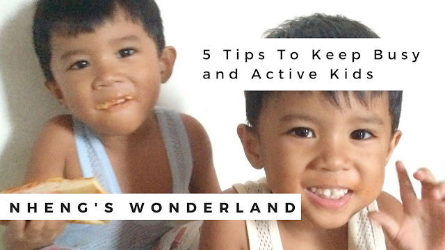 5 Tips To Keep Busy and Active Kids
